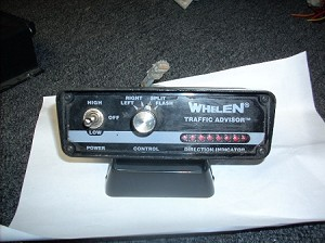 WHELEN TRAFFIC ADVISOR CONTROL HEAD TA 836