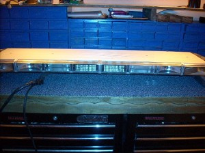 "WHELEN 48"" LFL PATRIOT 8 STROBE LIGHTBAR"